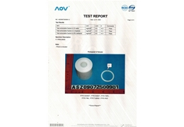 Product test report 2